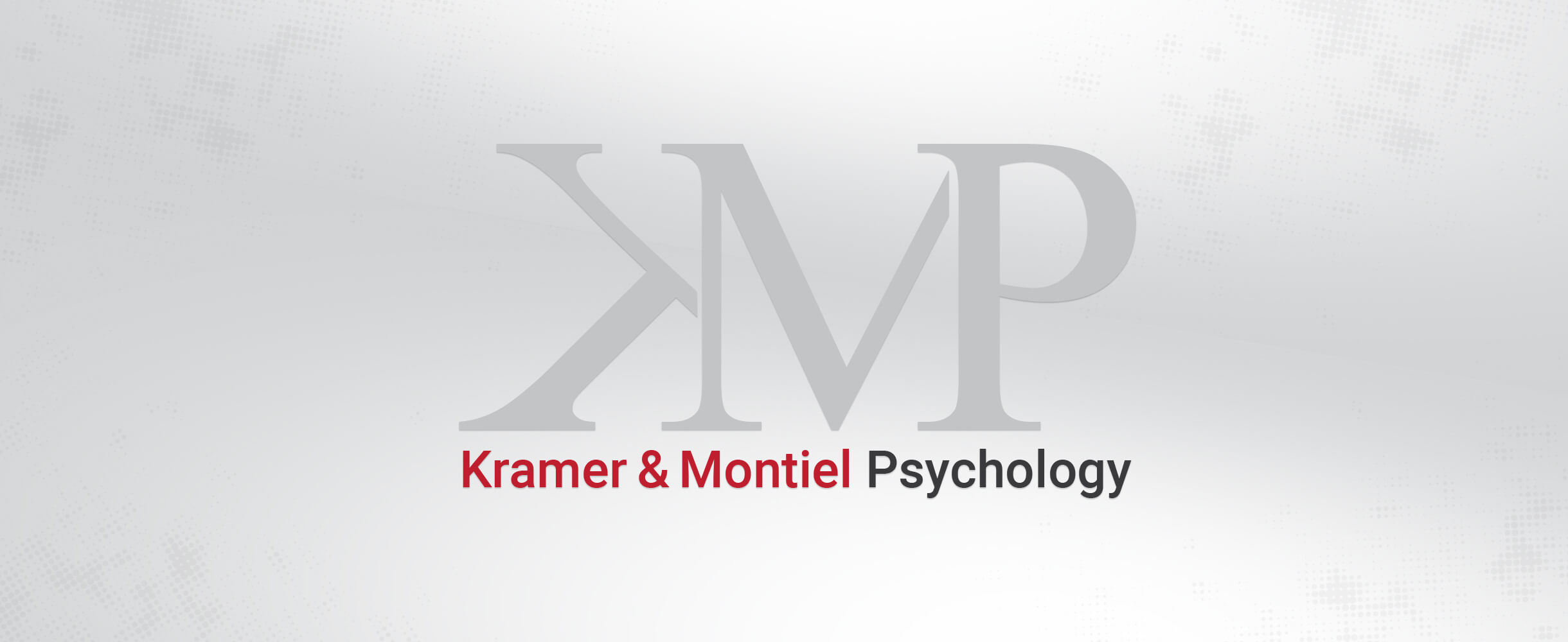 kramer & montiel psychology logo