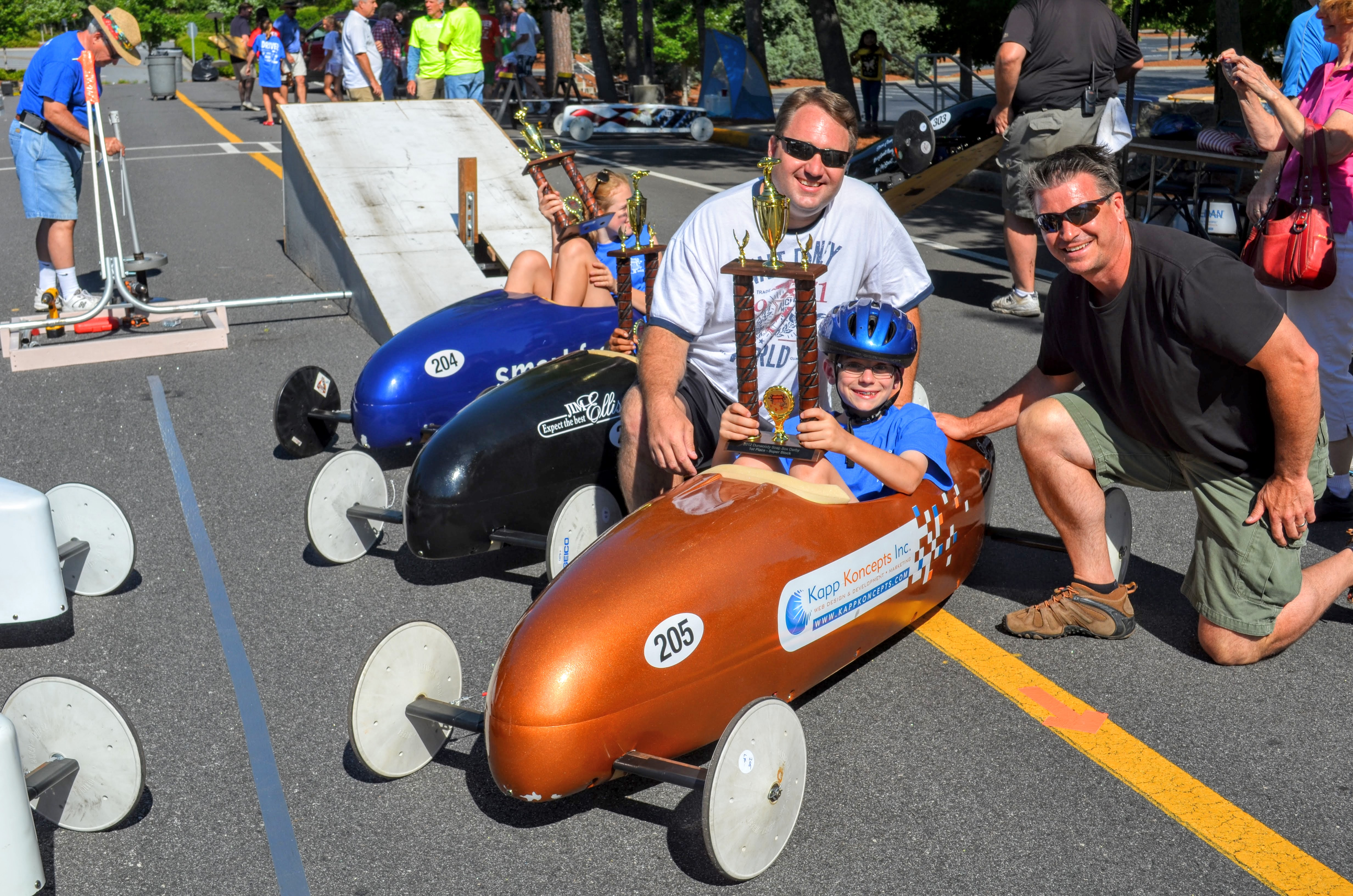 2012 Dunwoody-Northeast Georgia Soap Box Derby Champions
